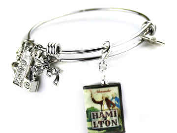 Selling with online payment: Hamilton Clay Mini Book  Bangle