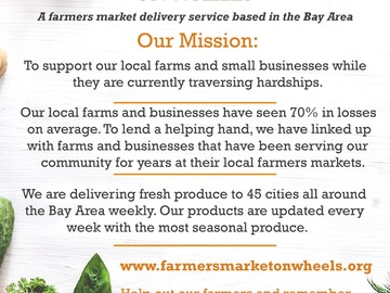 Services: Free Delivery of Fresh Local Produce To The Bay Area