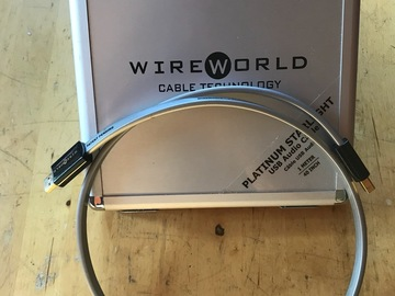 Vente: WIREWORLD PLATINUM STARLIGHT USB 1 mètre
