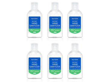 Buy Now: 4 oz - 120ml Sanitizer with 75% Alcohol Quick Dry