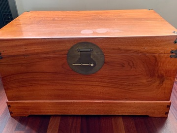 Selling without online payment: For Sale:  Camphor Chest