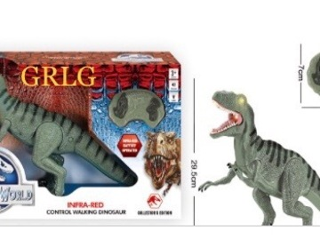 Buy Now: Lot of  18 RC JURASSIC DINOSAURS/Light and sound effect