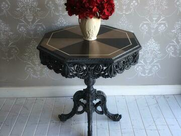Selling with online payment: Hand Painted Upcycled Vintage Table
