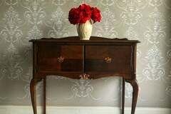 Selling with online payment: Upcycled Vintage Console Table Cabinet