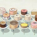 Online Payment - Group Session - Pay per Session: Beginner/Intermediate Painting - The works of Wayne Thiebaud
