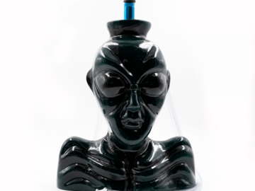 Post Now:  DARK GREEN ALIEN – CERAMIC HOOKAH BONG WITH 2 HOSES – 26CM