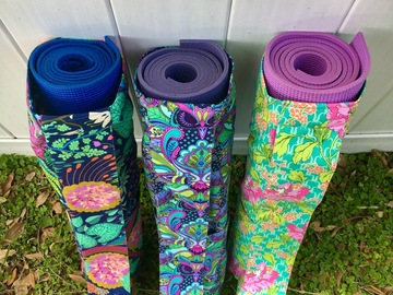 Selling with online payment: Handcrafted Yoga Mat Bag