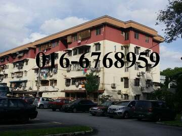 For sale: Pandan Jaya Block M Apartment for sale