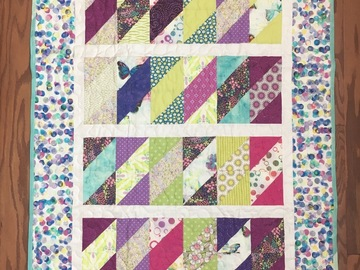 Selling with online payment: Handmade Baby Quilt