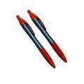 Buy Now: Rivet Style Plastic Pens With Orange Accents