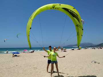 Course: Kitesurfing couple or friends starting course