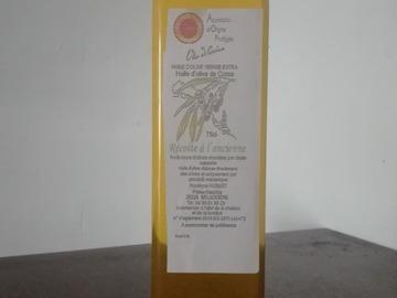 Vente avec paiement en ligne: Huile d'olive Corse AOP sabine