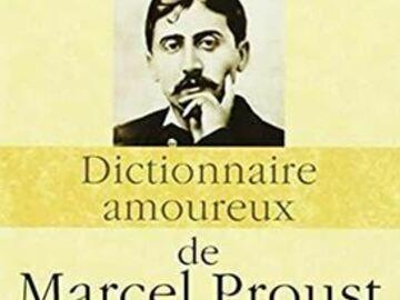 Vente: Dictionnaire amoureux de Marcel Proust
