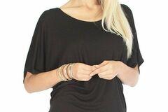 Liquidation/Wholesale Lot: 25 Piece, Lyss Loo Women's Tunic Top, size -large.