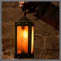 Verkaufen mit Widerrufsrecht (Gewerblicher Anbieter): Medieval square lantern with horn windows