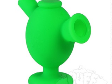 Post Products: NoGoo Silicone Blunt Bubbler. NG-MAR-GRN