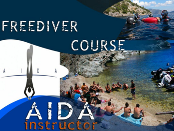 Freediving courses: AIDA Freediving Instructor Course in Dahab, Egypt