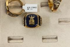 Buy Now: 12 pcs-- Men's Air Force Rings-- $8.25 pcs!!