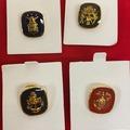 Liquidation/Wholesale Lot: 24 pcs-- Military Lapel Pins-- $4.99 each!