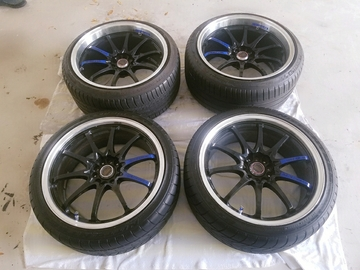 "Selling: 19"" Rays Volk Ce28 Staggered"