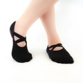 Buy Now: Cotton Non Slip Yoga Socks One Size Fits Women's 5.5 to 8.5