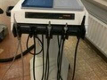 Gebruikte apparatuur: Rijdbare unit Holland Dental