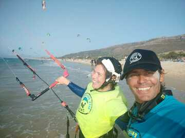 Course: Kitesurfing intermediate private course