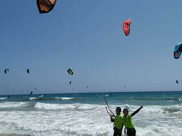 Course: Kitesurfing couple or friends intermerdiate course