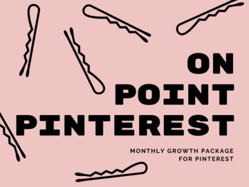 Offering online services: On Point Pinterest (30 days)