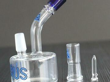 Post Now: Sidecar NEXUS glass bongs oil burner tire percolator vapor rig