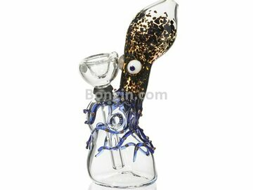 Post Products: Glass Bubbler Octopus