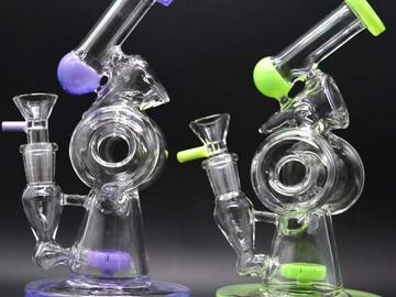 Post Now: Sidecar Dab Rigs Glass Bongs Bubbler 7.87 inch