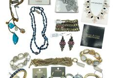 Liquidation/Wholesale Lot: 100 Pieces Top Selling Designer Name Brand Jewelry Retail $3,000