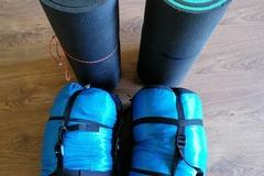 Leier ut (per day): 2 kpl makuupusseja ja makuualustat kesäkäyttöön