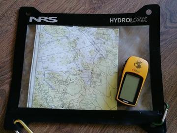 Hyr ut (per day): Garmin ETrex gps-paikannin ja vedenpitävä karttakotelo
