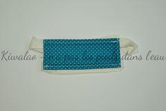 Vente au détail: Masque barrière bleu turquoise T3-12ans