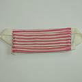 Vente au détail: Masque barrière rose rayé T3-12ans