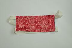 Vente au détail: Masque barrière rosace rose T:H/F/Ado