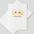 : Dim sum-body say greetings cards (pack of 6 cards)