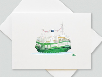 : Star ferry greetings cards (pack of 6 cards)