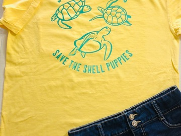 Selling with online payment: Turtle Shirt