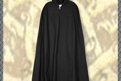 Selling with right to rescission (Commercial provider): Medieval Cloak Burkhard, black