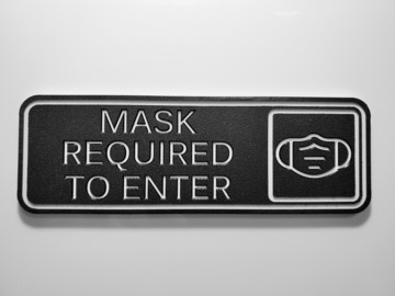 Sell your product: Mask Required To Enter Sign