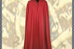 Selling with right to rescission (Commercial provider): Medieval Cloak Burkhard, red