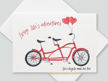 : Love and marriage (collection of 6 greetings cards)