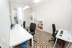 Renting with online payment: Coworking Plaza Catalunya