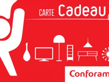 Vente: e-carte cadeau Conforama (250€)