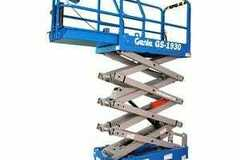 Renting out equipment (w/o operator): Genie 19ft Lift L1