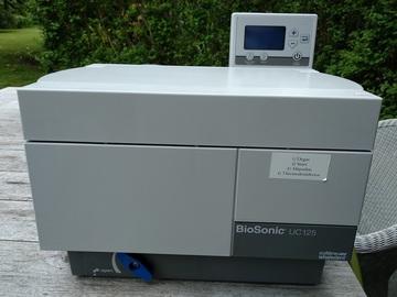 Artikel aangeboden: BIOSONIC UC-125 Ultrasoon reiniger + 1 grote mand