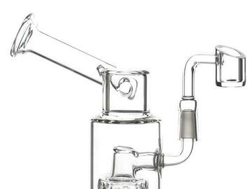 Post Products: Shower Head Side Car Bubbler Bong